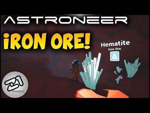 Astroneer Iron Ore - Hematite ! Astroneer update 125 gameplay | Z1 Gaming