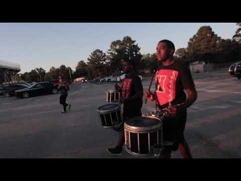Hephzibah High School Drumline Marching In vs Butler Bulldogs