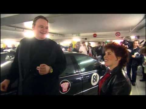 Ruby Wax tries to interview Kim Dotcom at the Gumball 3000