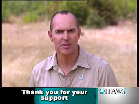 IFAW Arnold Vosloo Thanks everyone for their support to protect wildlife