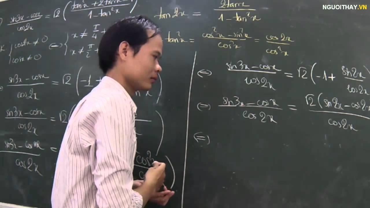 [Ôn thi -Toán ]Giải phương trình lượng giác [4]