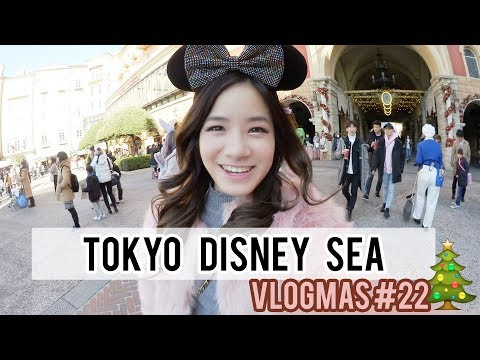 EAT ALL THE FOOD AT TOKYO DISNEY SEA | Vlogmas Day #22