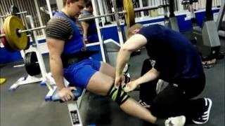 Подготовка к соревнованиям - присед 260 кг на три