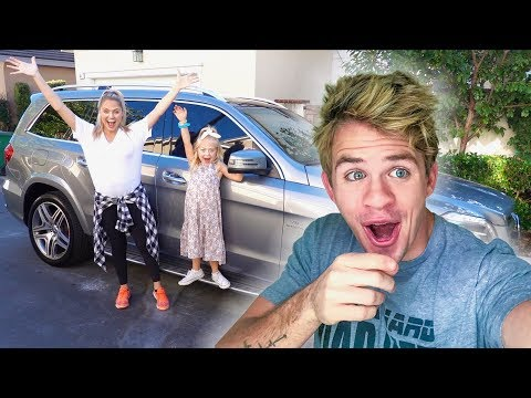 I got PAYBACK on Sav and Everleigh with a NEW CAR prank!!! (They were so mad)