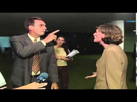 Maria do Rosário Vs Jair Bolsonaro. (sem cortes) ano 2003