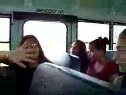 megan on the bus hyper