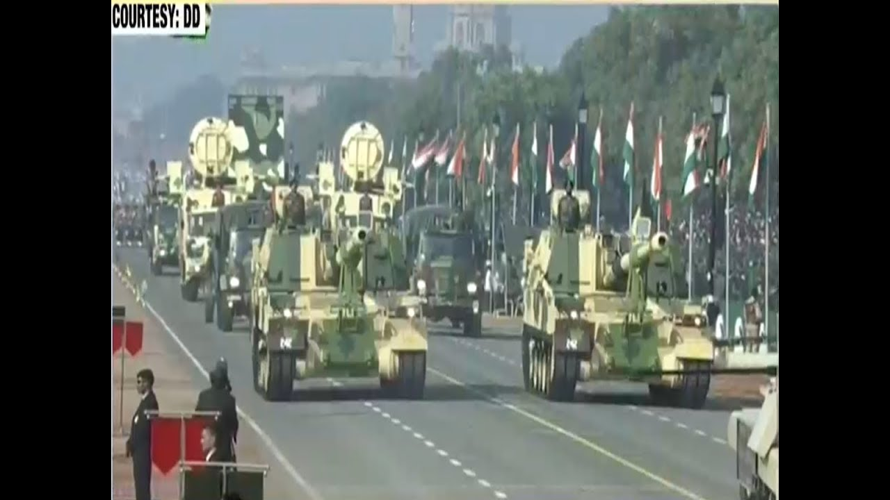 Republic Day 2019 India Displays Military Might During Parade Youtube