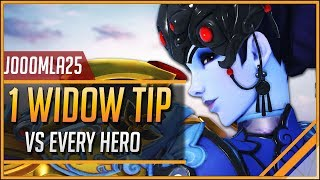 1 WIDOWMAKER TIP for EVERY HERO ft. j0000mla25