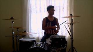 -AFNAN JEFFRY- Pierce the Veil - King For a Day - Drum Cover
