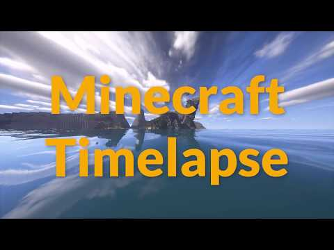 Minecraft Timelapse | Settlement By The Sea | by tigergutt44