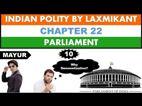 Indian Polity- Parliament(Part 10) types of motions in parliament closure motion for UPSC,MPSC,etc