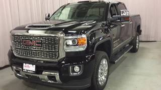 2018 GMC Sierra 2500HD 4WD Denali Duramax Diesel Allison Transmission Oshawa ON Stock # 180670