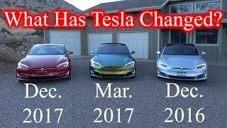 1 Year Worth of Changes to the Tesla Model S!