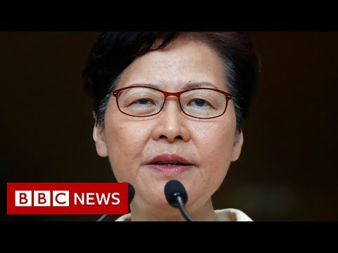 Hong Kong leader Carrie Lam in leaked secret recording - BBC News