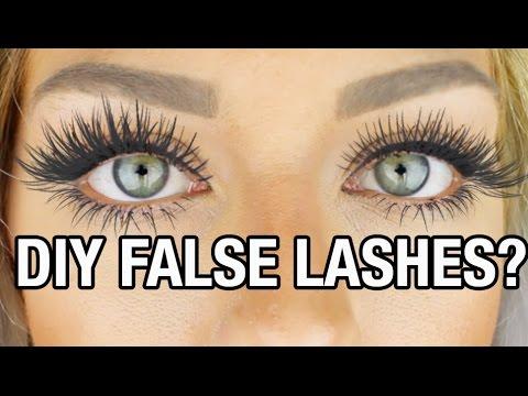 Beauty Hack or Wack? DIY False Lashes W/ Baby Powder