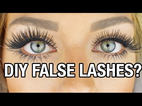 Beauty Hack or Wack? DIY False Lashes W/ Baby Powder | NICOLE SKYES