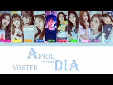 DIA (다이아) ft. DinDin (딘딘)- April (VOSTFR/ROM)
