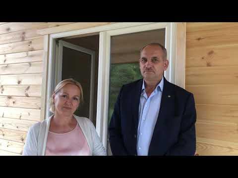 Каркасный дом во Владимирской области 9х11 - Отзыв клиента