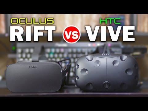 Oculus Rift vs HTC Vive - Ultimate In-Depth Comparison