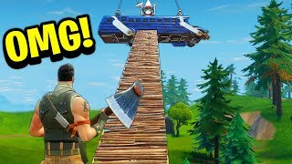 Top 5 MOST CREATIVE Forts Ever Built In Fortnite Battle Royale