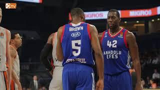 Anadolu Efes - Valencia Basket Maç Hikayesi
