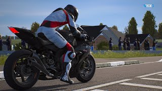 Ride 3 | XBox One X Enhanced Gameplay | North West 200 | Amazing Fight on Track