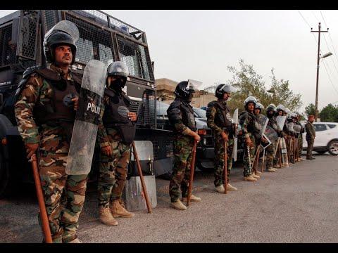 شرطة العراق تفرق محتجين أمام حقل الزبير النفطي  - نشر قبل 3 ساعة