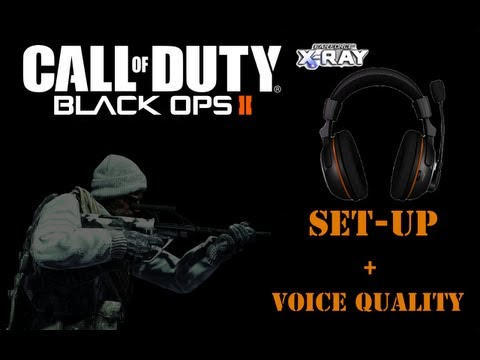 Black Ops 2 Turtle Beach X-Ray Pt1: How To Set-up And Voice Quality Test