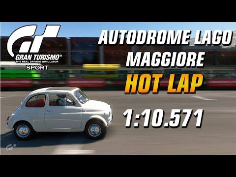 GT Sport Hot Lap // Daily Race A (09.09.19) FIAT 500F // Maggiore