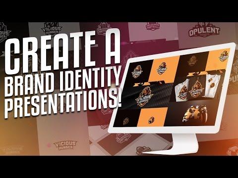 Photoshop Tutorial: Brand Identity Presentations!