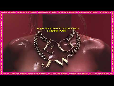 Ellie Goulding - Hate Me (with Juice WRLD) [Snakehips Remix]