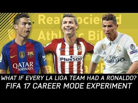 What If Every La Liga Team Had A Ronaldo? - FIFA 17 Experiment