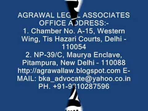 AGRAWAL LEGAL ASSOCIATES.wmv