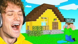 I CHANGED JELLY'S House In Minecraft!