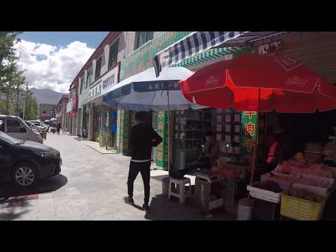 Walking in Lhasa, Tibet Autonomous Region, China 2017