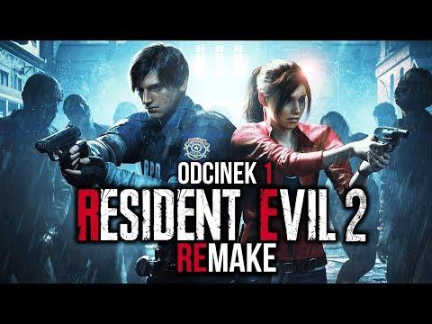 Resident Evil 2 REMAKE 2019 PL #1 - HORROR POWRACA! - PREMIERA