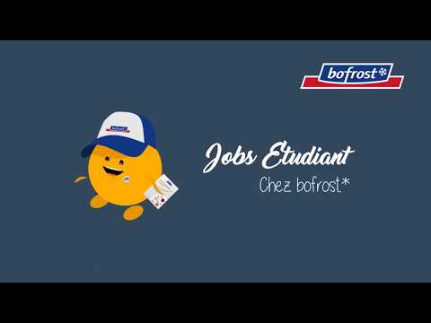 Job étudiant Bofrost* !