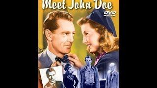 """Знакомьтесь, Джон Доу / Meet John Doe - фильм по рассказу Ричарда Коннелла """"Репутация"""""""
