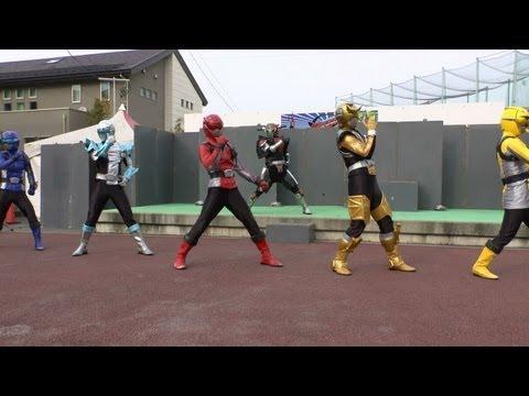 「特命戦隊ゴーバスターズ」ショー Tokumei Sentai Go-Busters  2013.1.13