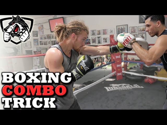 Boxing Combo Lead Hook Trick To Land More Punches Youtube