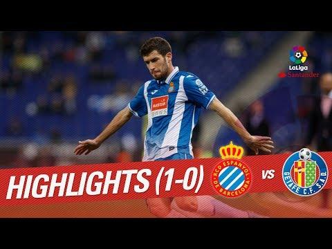 Resumen de RCD Espanyol vs Getafe CF (1-0)