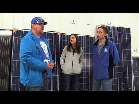Crowder College Tours Missouri Wind and Solar