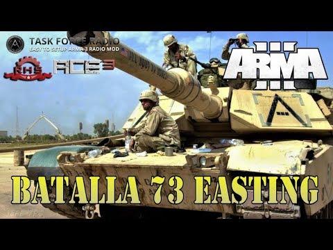 [ArmA 3](M1A1 Artillero) Batalla 73 Easting - Coop.35 Gameplay en Español [1080p Ultra] En Directo