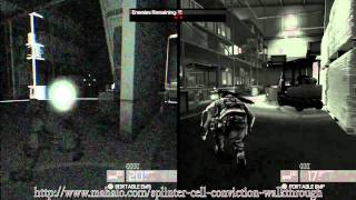 Splinter Cell Conviction Co-op Walkthrough Insurgency Pack - San Francisco, CA - Hunter