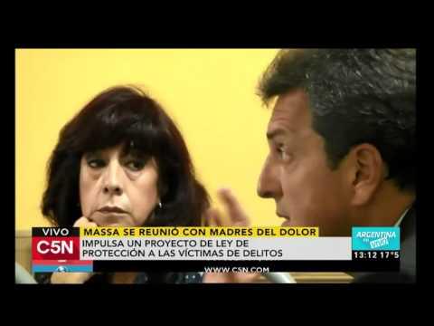 C5N - Política: Massa se reunió con Madres del Dolor