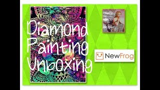 Unboxing 5 Diamond Paintings from New Frog, #6