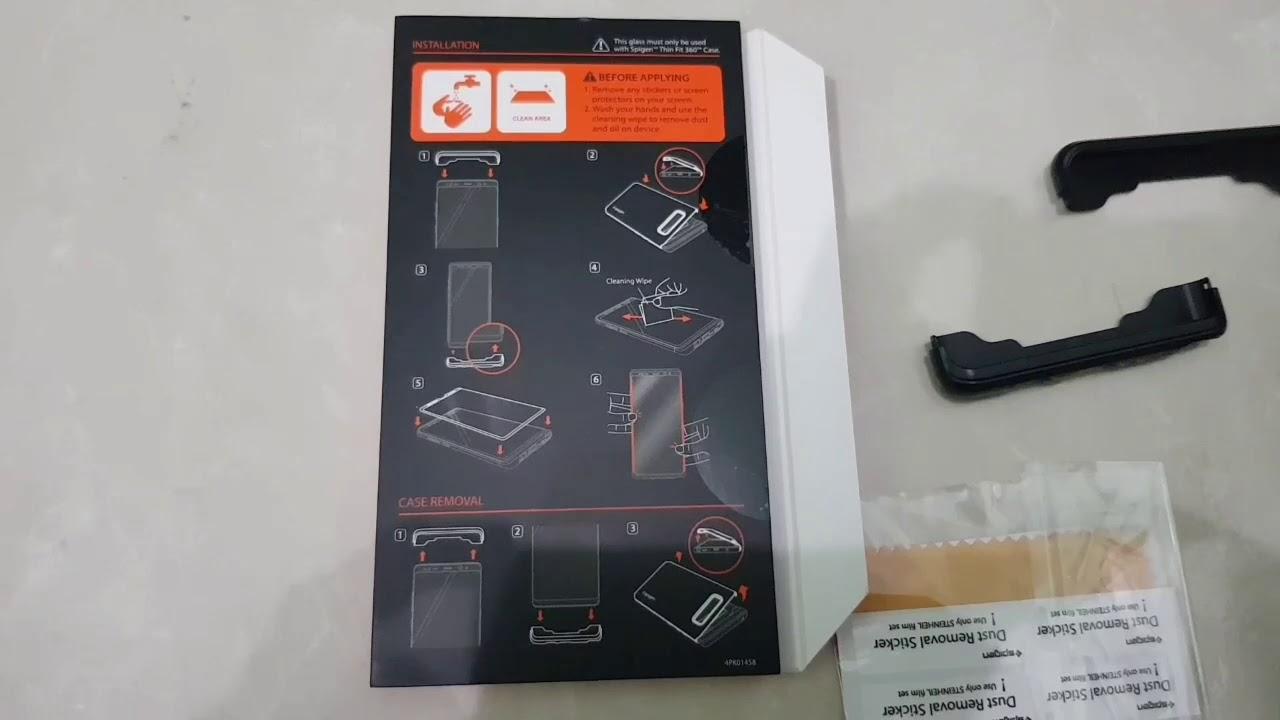 buy popular 46d7f 6adbf Spigen thin fit 360 case for galaxy note 8