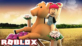 MY OWN HORSE! | ROBLOX | Amy Lee33