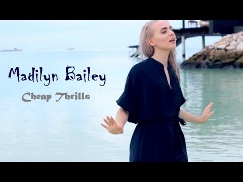 CHEAP THRILLS  -  Sia      Madilyn Bailey Cover [ LYRICS ]