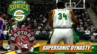 Seattle Supersonics Rebuild - WE NEED A WIN - NBA Live 2005 Dynasty - ep2